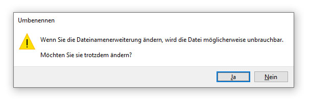 Windows-Meldung